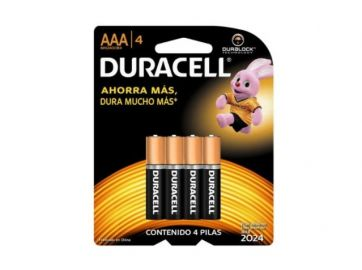 Pilas Duracell AAA – Pack 4 und